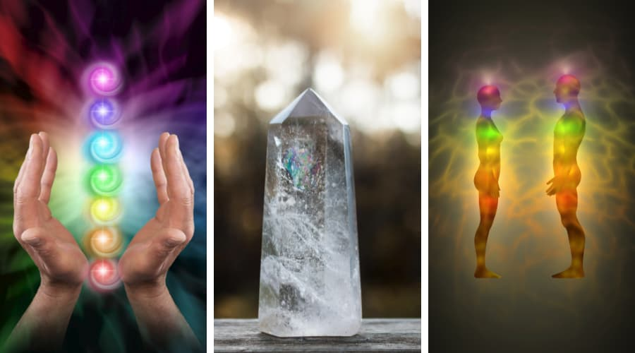 Healing Energy with crystal